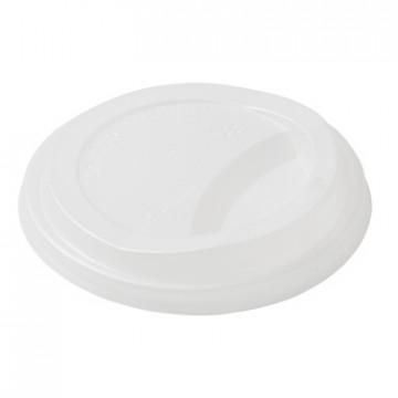 Duni vienkartiniai dangteliai Ecoecho™ puodeliams kavai (tinkamas 182533, 182534) balti, CPLA, 75 vnt.