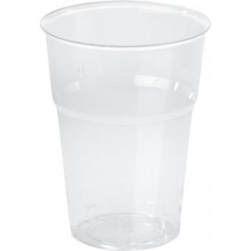 Duni Vienkartinės Ecoecho™ stiklinės, PLA, skaidrios, kompostuojamos, 250 ml, max +40°C, 50 vnt.