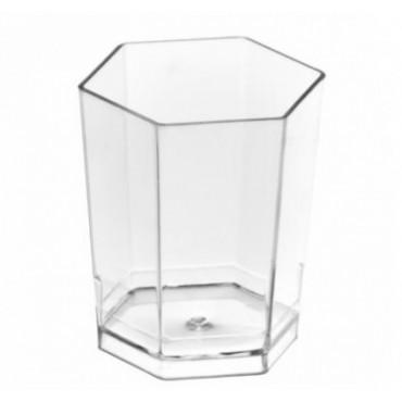 Vienkartiniai stikliukai, skaidrūs, 50 ml, 30vnt