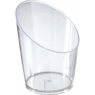 Duni Vienkartiniai degustaciniai stikliukai Amuse-bouche, Food Tube 35 ml, skaidrūs, PS, 4,5x5,8 cm, max +100°C, 65 vnt.