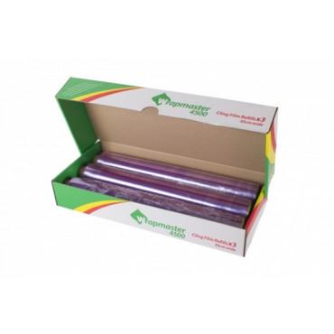 Maistinė plėvelė Wrapmaster 45cmx300m, 7mkr, PVC
