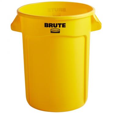 Konteineris Brute, geltonas, 121,1l