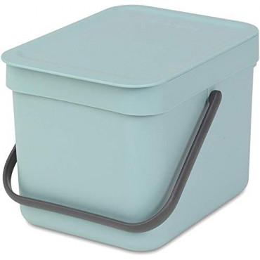 Šiukšlių dėžė Brabantia Sort&Go, mėtinės spalvos, 6 l