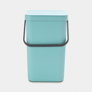 Šiukšlių dėžė Brabantia Sort&Go, mėtinės spalvos, 25l