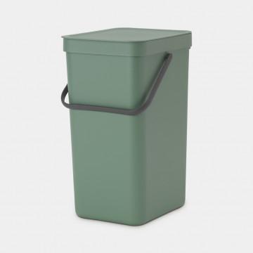 Šiukšlių dėžė Brabantia Sort&Go, tamsiai žalia, 16 l