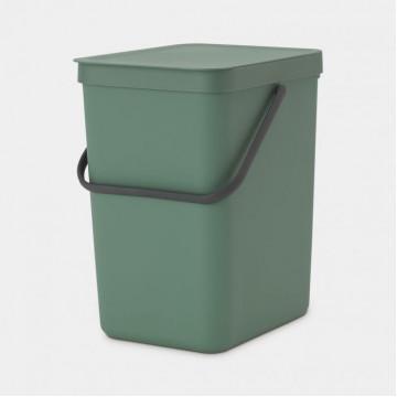 Šiukšlių dėžė Brabantia Sort&Go, tamsiai žalia, 25l