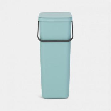 Šiukšlių dėžė Brabantia Sort&Go, mėtinės spalvos, 40l