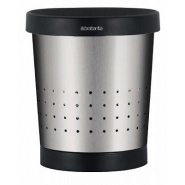 Šiukšlių dėžė biurui Brabantia Conical, matinio metalo, 5l