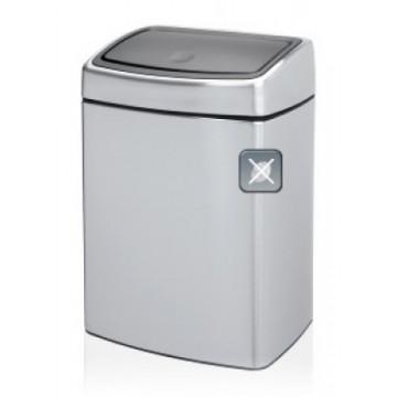 Šiukšlių dėžė Brabantia Touch Bin, matinio metalo, FPP, 10l