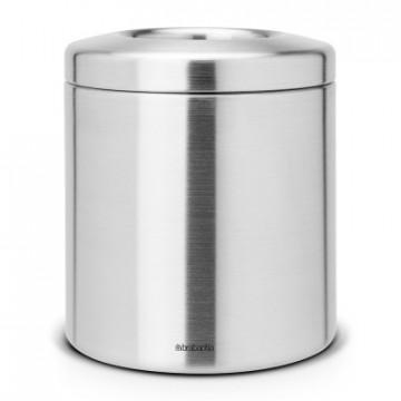 Stalo šiukšlių dėžė Brabantia, matinio metalo