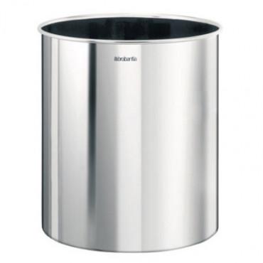 Šiukšlių dėžė Brabantia, matinio metalo, 7l