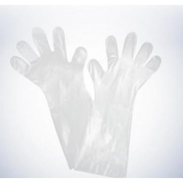 Vienkartinės polietileninės pirštinės Med Comfort, HDPE, skaidrios, 100vnt