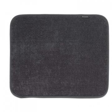 Mikropluošto kilimėlis indams džiovinti Brabantia, juodas