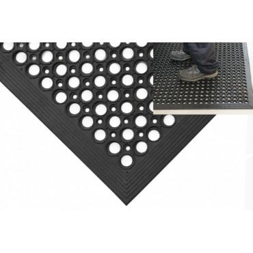 Guminis įėjimo kilimas, Ramp Mat, juodas, 0.8m x 1.2m (10mm)