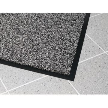 Įėjimo kilimas PVC pagrindu, Supreme juoda/pilka 0.6m x 0.9m
