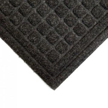 Įėjimo kilimas iš perdirbto pluošto, Enviro-Mat, juodas 0.9m x 1.5m (10mm)