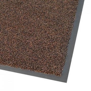 Skalbiamas įėjimo kilimas, COBAwash, juodas/rudas, 0.85m x 1.20m (9mm)