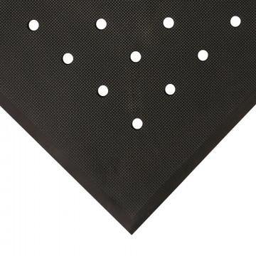 Nuovargį mažinantis apsauginis kilimėlis nuo slydimo, Hygimat, juodas 0.6m x 0.9m (17mm)