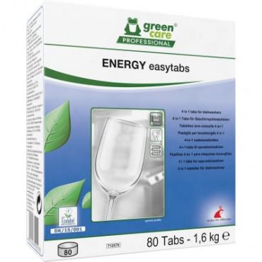 Tabletės automatiniam indų plovimui Energy Easytabs, 80vnt.