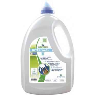 Skysta skalbimo priemonė Green'R Ultra Wash, 3l