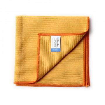 Mikropluošto šluostė šlapiam valymui, M-Microfiber Premium, oranžinė, 2vnt