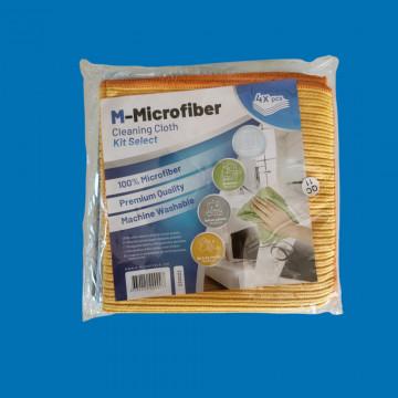 Skirtingų mikropluošto šluosčių M-Microfiber Premium rinkinys, 4vnt